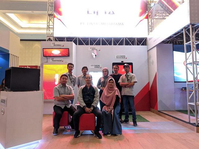 booth di ict expo 2018 bandung