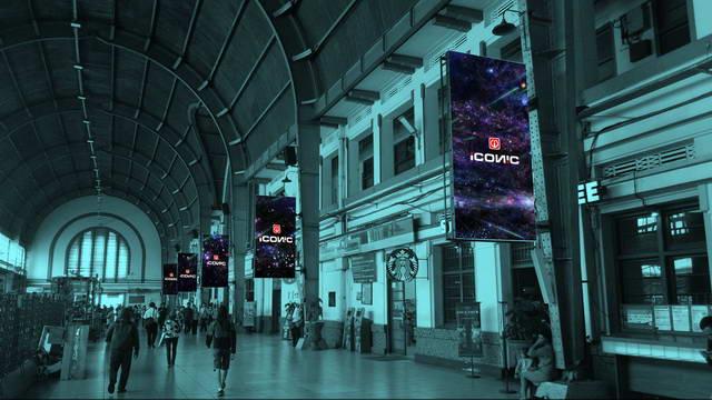 led display fixed indoor lintasmediatama iconic billboard videotron advertising jakarta