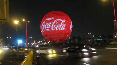 produk kreatif sphere led display