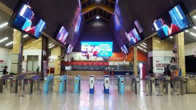 produk led indoor transportasi stasiun