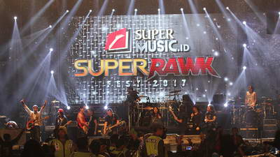 produk led rental supermusic superrawk