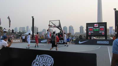 project aktivasi led rental street basket u18 championship jakarta