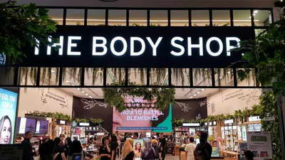 project retail led indoor the body shop pvj bandung