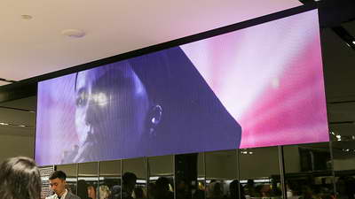 project retail led indoor zara store jakarta