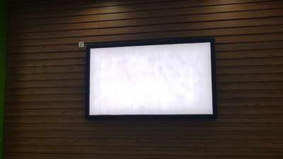 project transportasi indoor lightbox stasiun sudirman jakarta