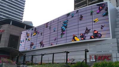 project ooh dooh videotron ratu plaza jakarta