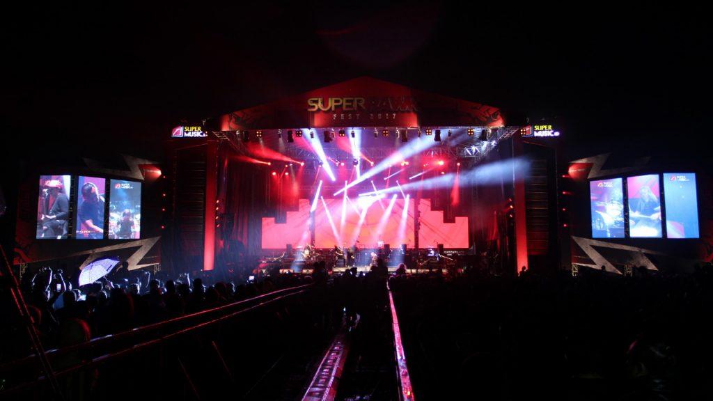 rental led screen event musik superrawk