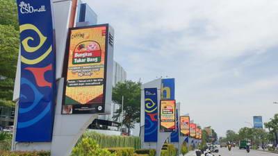 LED Minitron Outdoor P6 CSB Mall Cirebon
