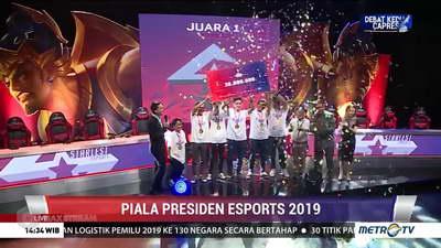produk esport piala presiden 2019 LIMA
