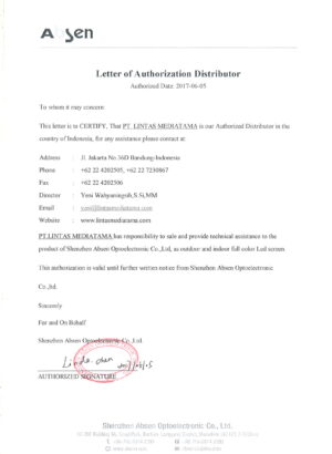 Letter of Distribution Absen