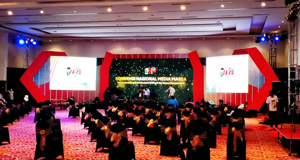 Hari Pers Nasional - LED Indoor P3 Main stage 2
