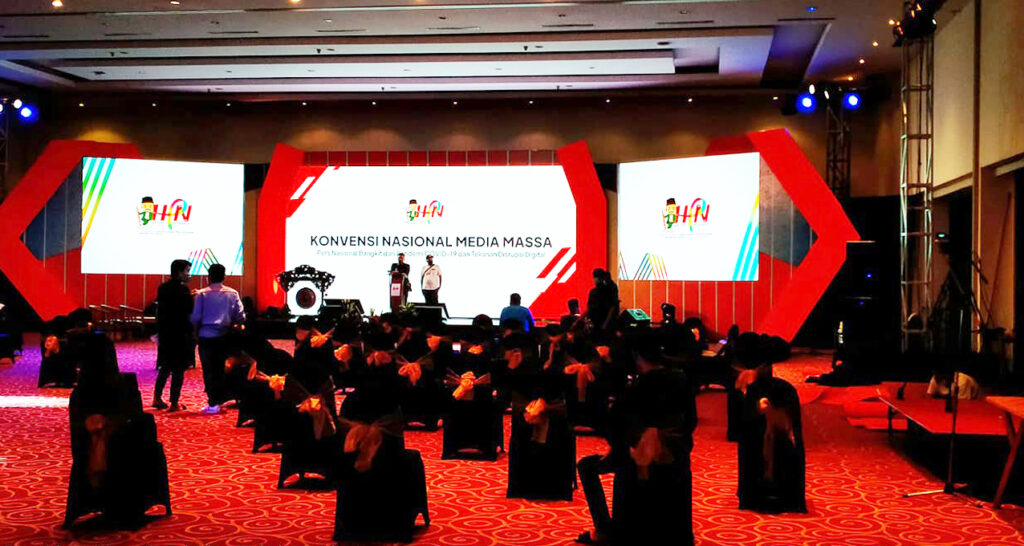 Hari Pers Nasional - LED Indoor P3 Main stage