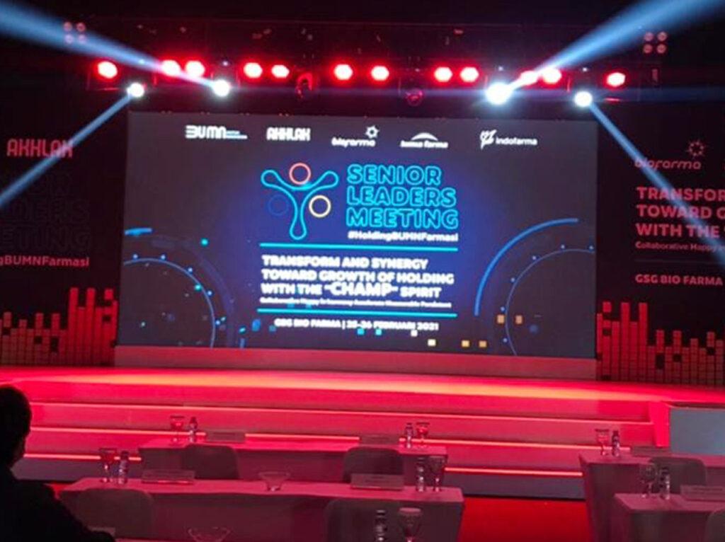 Main Stage Senior Leader Meeting Biofarma Front