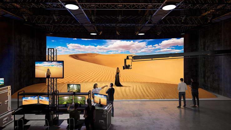 led screen videotron pembuatan film