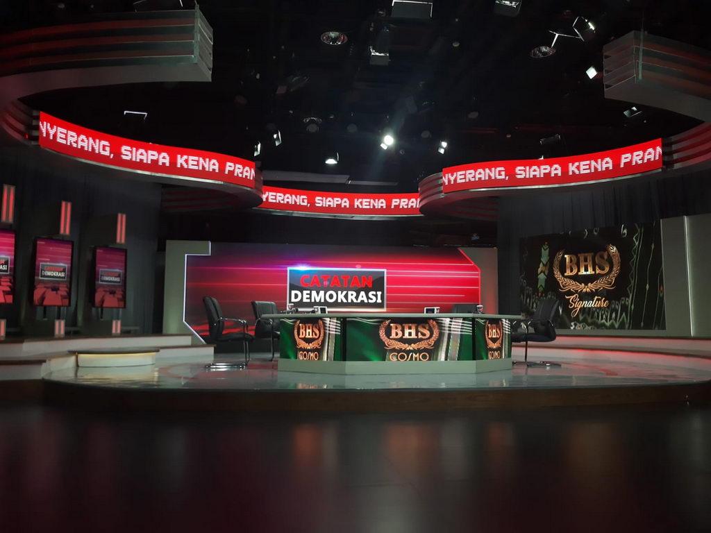 LED Videotron TV Studio